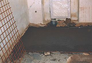 Odvětrávaná podlaha iglu